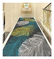 CnCnCn エリアラグカーペットランナーはクロップドノンスリップ回廊の床のカーペット0.6センチメートルの厚さにすることができます (Color : B, Size : 60x500cm)