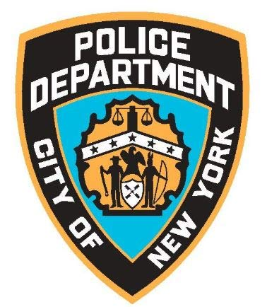 NYPD Police pop Vinyl | 6 - Sizes Bumper Banner Sticker Window | NYPD Police car Decal (3')