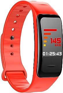 Zomeber Aptitud Pulsera SmartBand Tracker, IP67 a Prueba de Agua, presión de Soporte Modo Deportes/Sangre/Monitor de sueño (Negro)