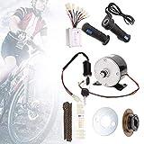 Ebike Conversion Kit, 9pcs/Set 250W 24V Brush Motor Set Bicicleta Bicicleta Conversión Kit de Alta Velocidad Accesorio Motor DC sin escobillas eléctrico Kit Completo Kit de Motor de Bicicleta