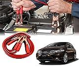 Auto Pearl Car 500 Amp Heavy Duty Jumper Booster Cables Anti Tangle Copper