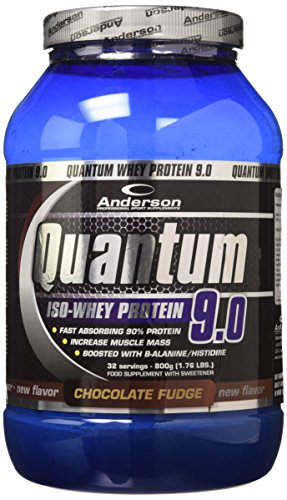 Anderson Research IAF00089000 Quantum 9.0, 800 g, Cioccolato Fudge
