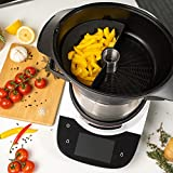 Mixcover Bosch Cookit - Divisor de silicona para horno de vapor Bosch Cookit (para dividir el espacio de cocción a media o cuartos, compatible con Bosch Cookit Half
