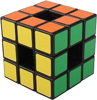 AI-YUN 3x3 Void Speed Cube 3x3x3 Hollow Speed Cube Black 3x3 Magic Cube Puzzle Toys