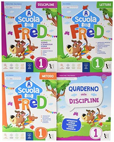 A scuola con Fred. Per la Scuola elementare. Ediz. per la scuola. Con e-book. Con espansione online (Vol. 1)