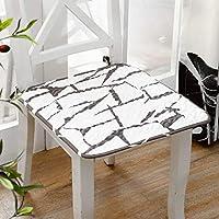 綿が シートクッション,綿 肌に優しい おしゃれ 快適 耐久性であ Cinturón Portátil 屋内および屋外での使用 シートクッション-50x50cm(20x20inch)-E