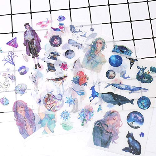 Kpop Stickers Pack Cartoon Anime Star Girls Creatieve Ruimte Dagboek Hand Account Materialen DIY Koelkast Mobiele Skateboard Decoratie