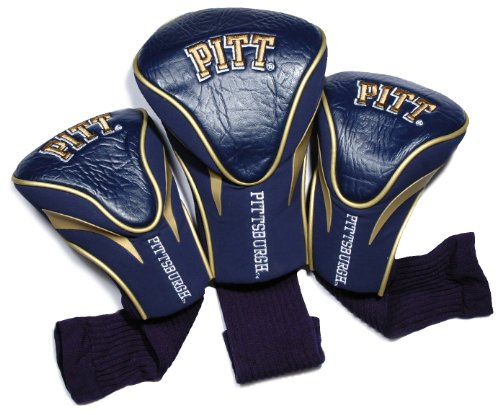 NCAA Pittsburgh Panthers 3 Pack Contour Golf Club Headcover