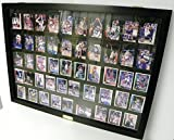 Pennzoni Display 50 Baseball Card Displays Case Will Hold 50 Ungraded Baseball Cards P306B