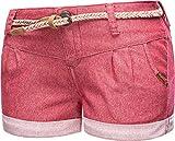 Ragwear A 26-31 - Pantalones cortos de verano para mujer Rot20. 30