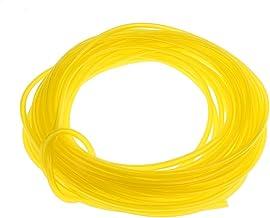 Flameer Brandstofslang van kunststof, 15 m – geel, 3 x 6 mm
