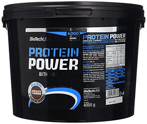 BioTech USA IAF00070565 Protein Power, 4000 g, Cioccolato