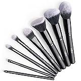 Brochas Maquillaje Profesional 8 Piezas de Anjou, Set de Brochas de...