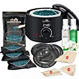 Lifestance Waxing Kit- L2 Wax Warmer Hair Removal- 4 Packs of Wax Beads(14.1 oz total)- Lifestance Wax Machine with 42 Items- Wax Pots Professional for All Hair Types- Eyebrow- Facial- Bikini