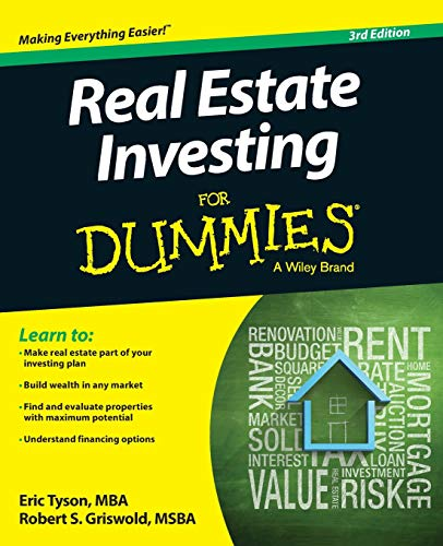 Real Estate Investing Books! - Real Estate Investing For Dummies