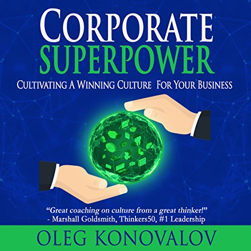 Corporate Superpower audiobook cover art