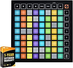 Novation LAUNCHPAD-Mini-MK3 Launchpad Mini MK3 Grid Controller for Ableton Live Keys Bundle with 1 Year Extended Warranty