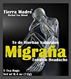 Tierra Madre Te Migrana Migraine Tradiconal Herbal Support - 10 Pack of 5 tea Bags / 0.2 Ounces -...