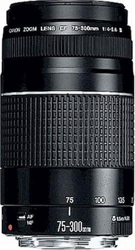 Canon Teleobjektiv Ef 75 300mm F4 0 5 6 Iii Für Eos Kamera