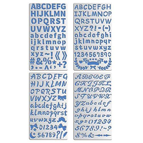 Plantillas para Pintar Tela Letras Marca BENECREAT