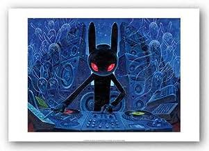 DJ BlackRabbit Poster by Aaron Jasinski (20.00 x 13.75)