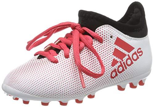 Adidas X 17.3 AG, Botas de fútbol Unisex niño, Gris (Gris/Correa/Negbas 000), 38 EU