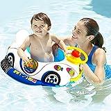 CaCaCook Anillo de Natación para Bebé, Anillo de Natación para Bebés Anillo de Flotador de Natación Inflable Círculo de Flipper de Natación Ayuda de Seguridad, Inflable de Piscina Nadar Anillo