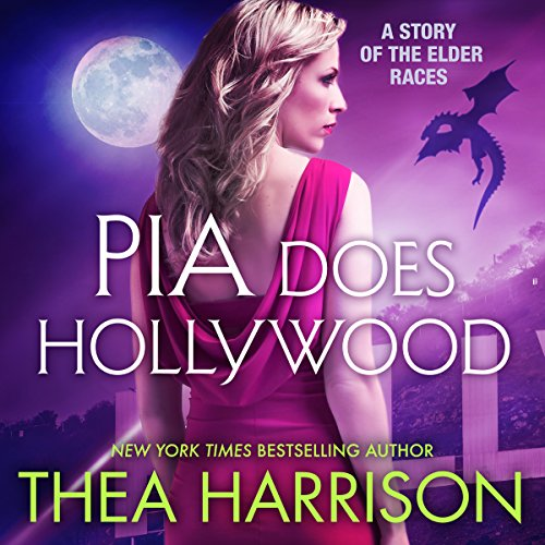 Pia Does Hollywood audiobook cover art