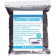 CCnature Organic Lavender Flowers Dried Lavender Buds Culinary Grade 4oz