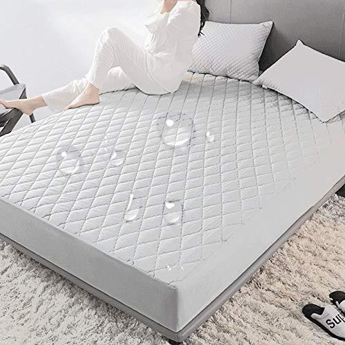 Mumusuki 160x200cm katoenen lakens ademende waterdichte matras beschermhoes Home Hotel Beddengoed Accessoires