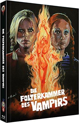 Die Folterkammer des Vampires [Blu-Ray+DVD] auf 666 limitiertes Mediabook Cover B
