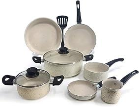 Trust Non.Stick Cookware Set 10pcs (Kr30mb9)