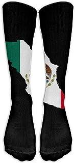 Hunter qiang, Calcetín de compresión para mujer con diseño de calcetín de piña, unisex, antiolor, largo, para hombres y mujeres, largo: 50 cm