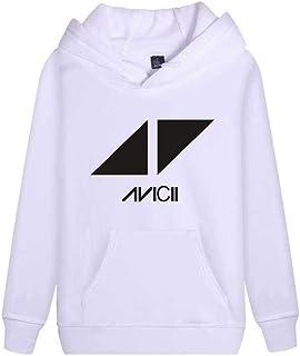 1f81b84a90a8 Haililais DJ Avicii Sudaderas con Capucha Ocasionales Sueter Deportivo  Jerseys De Parejas Sencillos Sweatshirts para Mujeres