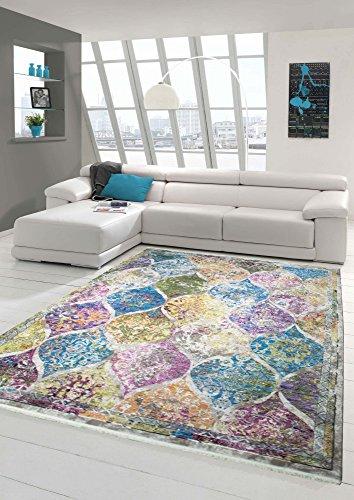 Diseñador y Alfombra Moderna Diseño Vintage Multi Größe 80x150 cm