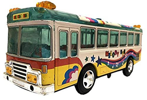 Antiques World Up for Sale is Rare Streamliner Collection of Vehicles Tin Toy Vintage Toy & Games Antique Melody Bus AWUSAOA 039