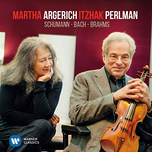 Perlman & Argerich play Schumann, Bach & Brahms [Vinilo]