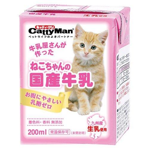 ドギーマンハヤシ『CattyMan(キャティーマン) ねこちゃんの国産牛乳』