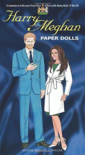 Harry and Meghan Paper Dolls (Dover Celebrity Paper Dolls)