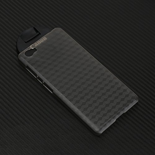 Ycloud Tasche für Vernee Mars PRO Hülle, mitstoßfeste Handy Backcover Kunststoff-Hard Shell Handyhülle Hülle Schutzhülle Grau