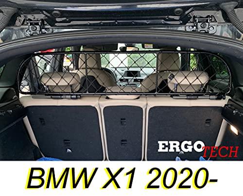 ERGOTECH Trennnetz Trenngitter für BMW X1 (ab BJ 2020), RDA65-XS8, für Hunde und Gepäck