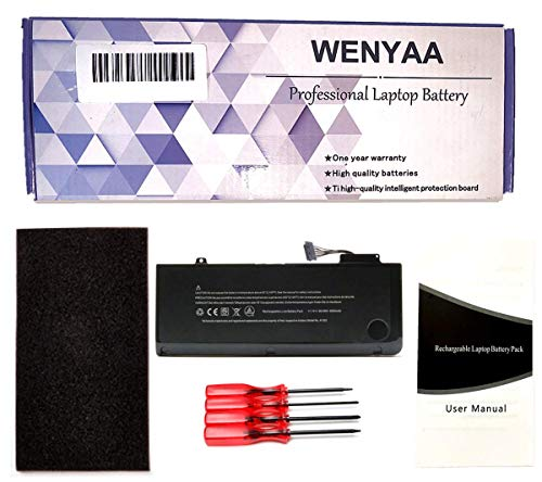 """A1322 New Laptop Battery for MacBook Pro 13"""" A1322 A1278 (Mid 2009,Mid 2010,Early 2011,Late 2011,Mid 2012);661-5229 020-6547-A 661-5557 MB990LL/A MB991LL/A MC374LL/A MC700LL/A --12 Months Warranty"""