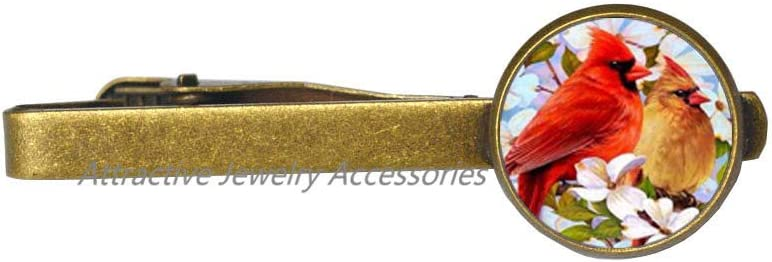 Wklo0avmg Max 40% OFF Handcrafted Cardinal Tie Columbus Mall Clip for Gift Grand Mom Wife