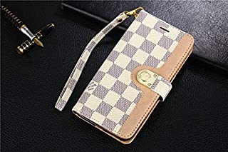 Galaxy Note 9 Case, Classic Chess Board PU Leather Wallet Case with Card Slots Magnet Clasp for Galaxy Note 9