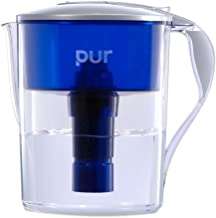 PUR Classic 11-Cup Water Filter Pitcher with LED and 4 BONUS Seasonal Decals