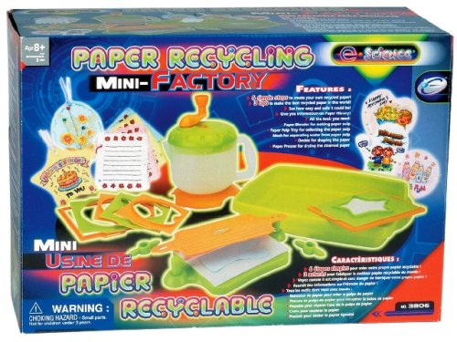 e-Science 3806 Papier Recycling Mini Fabriek