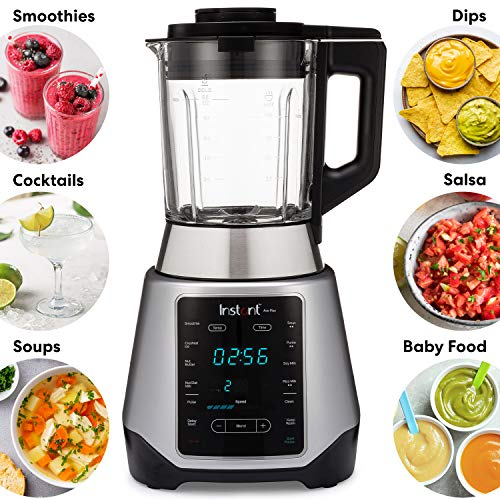 Instant Ace Plus Cooking Blender, Hot and Cold, 10 One Touch Programs,56 oz, 1300W