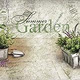 Dekolust Küchenläufer 180×50 cm Summer Herbs Fußmatte Küchenteppich - 5