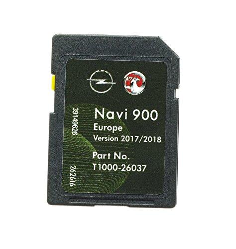 NEUESTE URSPRÜNGLICHE VAUXHALL- / OPEL- / CHEVROLET-NAVIGATIONS-SD-KARTE 2018 NAVI 600/900 KARTE