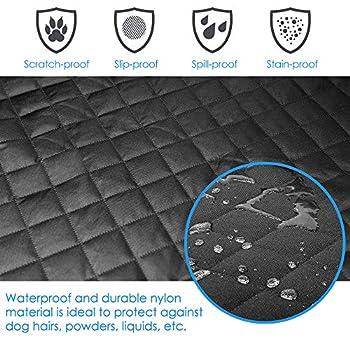 KYG Coffre Protection Housse de Coffre Couverture de Voiture pour Chien Imperméable et Antidérapant Housse Protection Coffre pour Universelle Voitures et SUV 178×100 cm